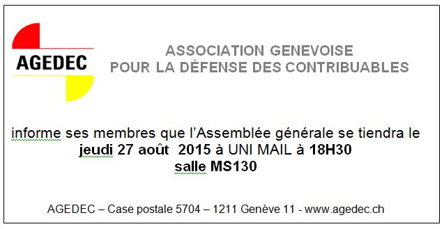135 Assemblée générale 27.8.15
